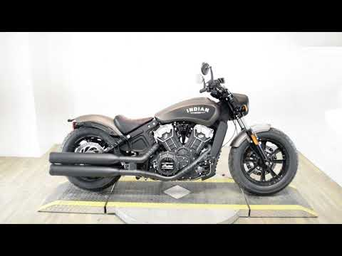 2019 Indian Scout® Bobber ABS in Wauconda, Illinois - Video 1