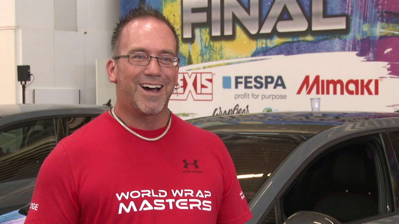 """<p>FESPA TV speaks to Jeremy Conner, one of the World Wrap Masters judges. Jeremy Conner Is a 28 year veteran in the vinyl application industry and started his company, Who Did That, Inc., in 1999. He holds certifications from Hexis, 3M, Avery, Orafol and Arlon. He has been a judge for FESPA wrap competitions in Mexico and in Germany. His favorite term has always been """"Big Or Small, We Wrap It All!!"""".</p>"""
