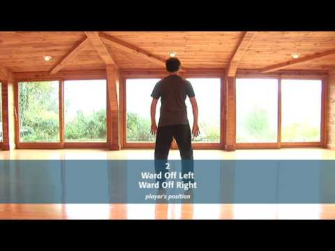 Tai Chi Form: 2 - Ward Off Left and Ward Off Right