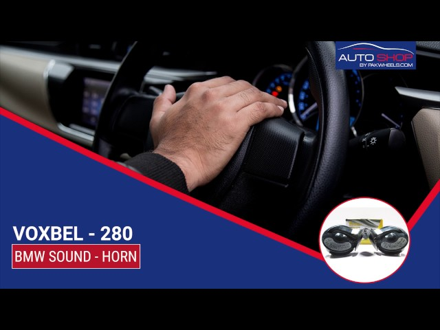 HORN - BMW SOUND - E-280 Video