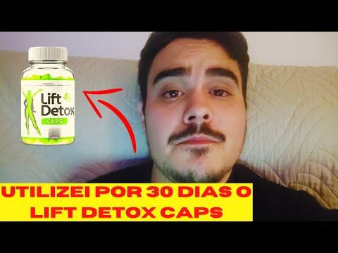 UTILIZEI O LIFT DETOX CAPS POR 30 DIAS E ESSE FOI O RESULTADO...