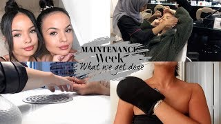 MAINTENANCE WEEK - WHAT WE GET DONE - AYSE AND ZELIHA