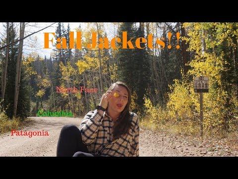 Favorite Fall Jackets!! 🍁~North Face, Patagonia, Columbia