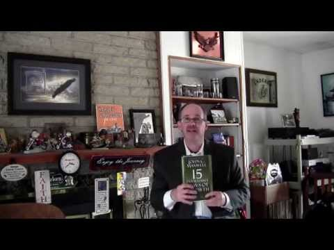 Larry on the John Maxwell Team Programs | The Invaluable 15 Laws of Growth