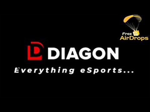 Ganhe ~$15 Dólares Grátis no Airdrop Bot da Plataforma de eSports DIAGON  ! (75 DGN)