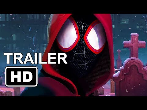 SPIDER-MAN : Into the Spider-verse Trailer (2018) First Miles Morales Spiderman Movie
