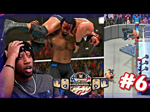 WWE 2K19 MyCAREER - LAST MAN STANDING MATCH FOR THE UNITED STATES CHAMPIONSHIP AT BACKLASH!!