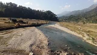 preview picture of video 'view of kalimati, salyan, sarada river...'
