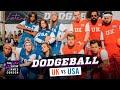 Team USA v. Team UK - Dodgeball w/ Michelle Obama, Harry Styles & More - #LateLateLondon