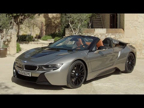 2019 BMW I8 Roadster (Donington Grey) – Exterior Design