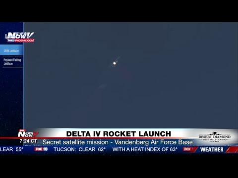 FNN: Durbin slams President Trump, Trump arrives in FL, CA mudslides latest, Delta IV rocket launch