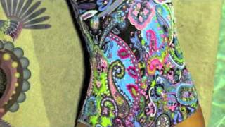 Agua Bendita Swimwear Featuring Candice Swanepoel - Bendita Feria 2011