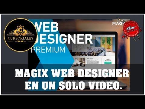 CURSO DE MAGIX WEB DESIGNER PREMIUM - EN UN SOLO VIDEO