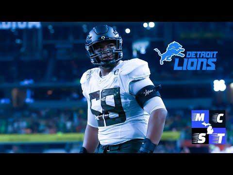 Detroit Lions Draft Oregon OL Penei Sewell w/ #7 Pick in 2021 NFL Draft!!!