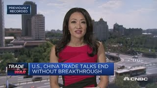 Latest round of China-US trade talks ends without breakthrough | In The News