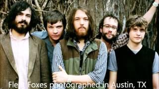Fleet foxes- crayon angels/ oliver james