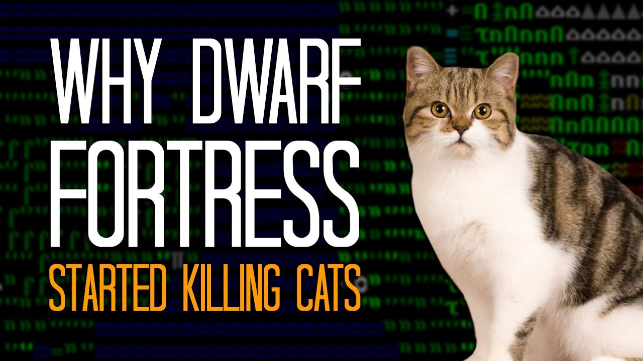 The True Story Behind Dwarf Fortress' Mysterious, Vomit-Covered Dead Cat Problem