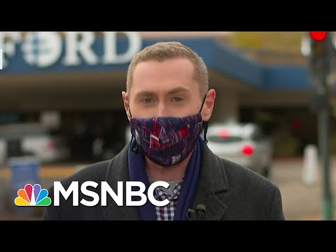 North Dakota COVID-19 Cases Spike By More Than 50 Percent | Ayman Mohyeldin | MSNBC