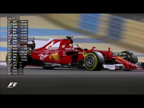 Ferrari venció en el gran premio de Bahréin