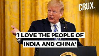 Trump Once Again Hints At Brokering Peace Between India And China