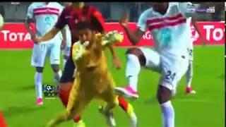 جنون رؤوف خليف بعد هدف زماموش في مباراة الزمالك # اتحاد الجزائر دوري ابطال افريقيا HD