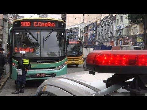 Fiscalização apreende seis ônibus por más condições de uso em Nova Friburgo
