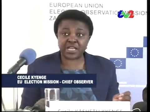 EU EOM Zambia opening press conference - ZNBC TV2