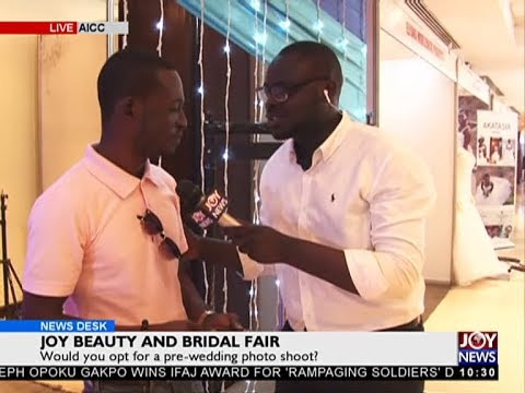 Joy beauty and bridal fair- News Desk on JoyNews (12-7-18)