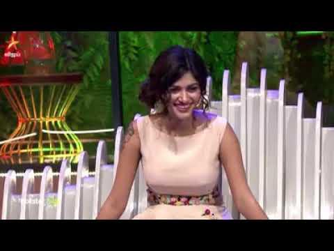 Oviya simbu conversation Vijay tv pongal celeberation