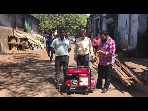 5 Kw Low Noise Bajaj-M Portable Petrol Generator
