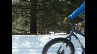 Fat Biking the Rendezvous March 25