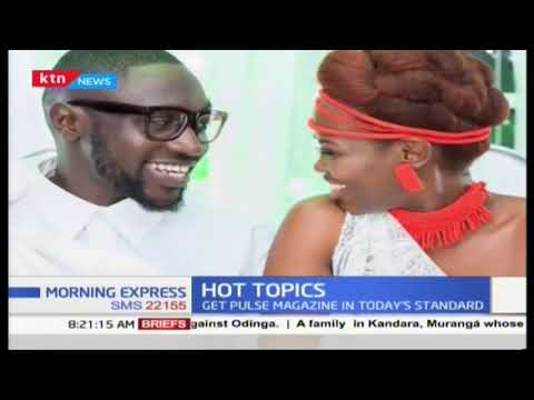 Hot topic : Sauti Sol's polycarp weds in total secrecy with few invites