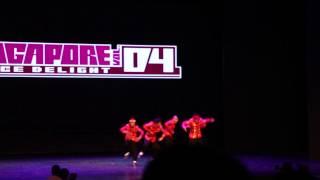 Flipendemic Kru - 2nd Place Singapore Dance Delight Vol. 4 Finals (2013)