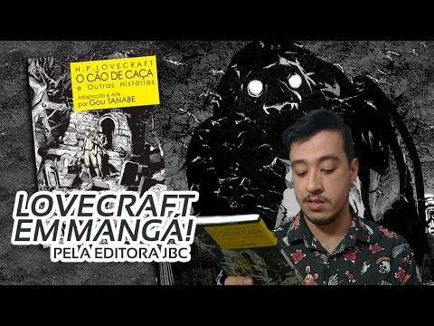 O CÃO DE CAÇA E OUTRAS HISTÓRIAS, terror lovecraftiano em mangá | Mil Páginas