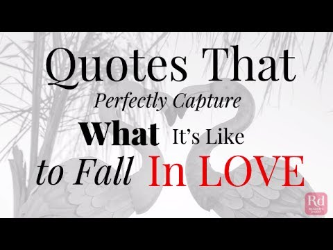 Quotes That Perfectly Capture What It's Like to Fall In Love