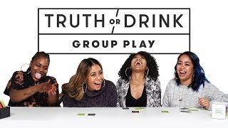Best Friends Play the Game Truth or Drink (Patrice, Mele, Escence, Casey) | Truth or Drink | Cut