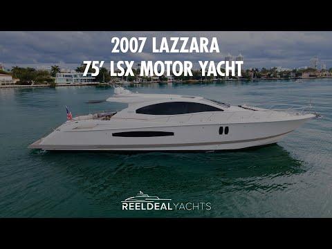 Lazzara Yachts LSX video