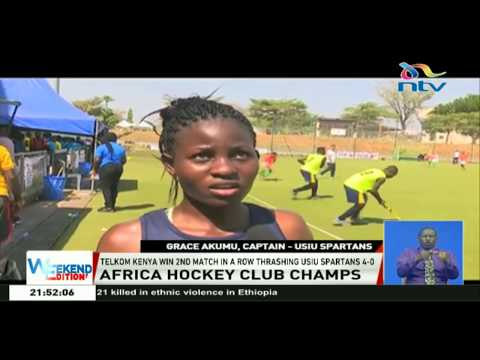 Hockey: Telkom Kenya win 2nd match in a row thrashing USIU Spartans 4-0