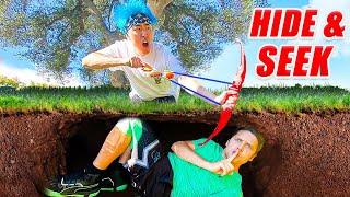Extreme HIDE and SEEK Tag at TEAM RAR MANSION! Ft. Ryan Prunty & Stove