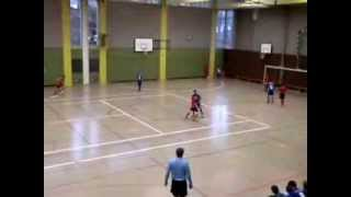preview picture of video '1. CFR PF Jg 2001/02 2014.01.26 Hallenturnier Köba Spiel5: vs. FSV Buckenberg'