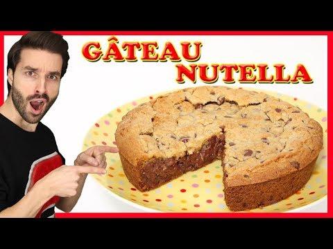 Gâteau au nutella classique