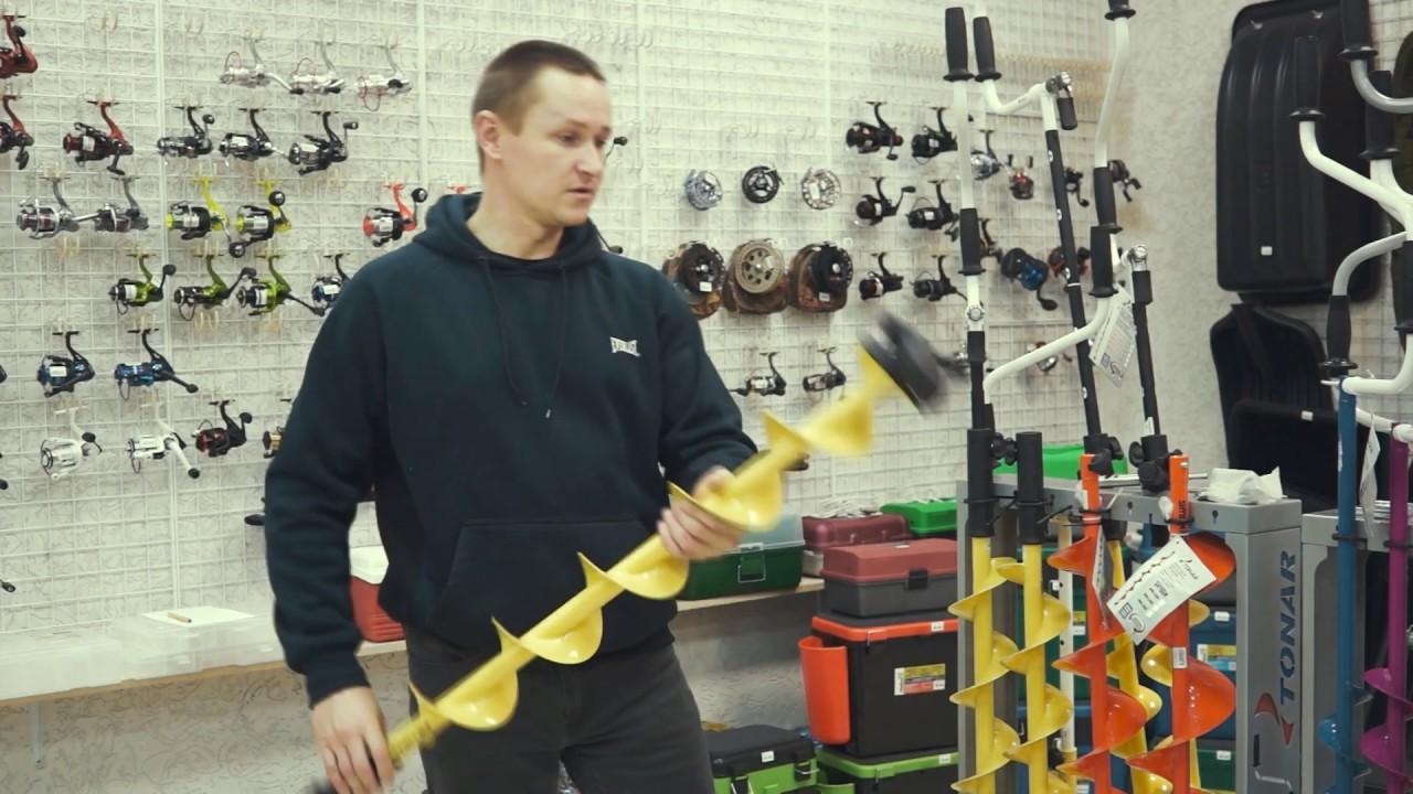 Видеообзор Ножи к ледобуру ЛР-180