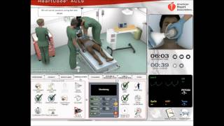 ACLS SIM #12 Cardiac arrest, pacing