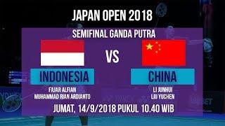 Live Streaming Semifinal Ganda Putra Japan Open 2018, Fajar/Rian Vs Cina Pukul 10.40 WIB