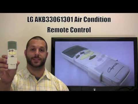 LG AKB33061301 Air Conditioner Unit Remote Control