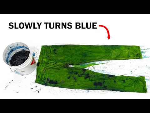 Making Indigo - The dye that makes jeans blue