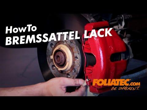 Foliatec Bremssattel Lackset (Rot, 0.58l)