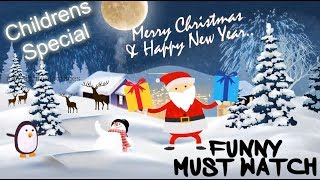 Merry Christmas Greetings & wishes, Childrens Christmas wishes 2020, merry christmas animation video