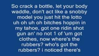 Eminem ft. Dr. Dre and 50 cent Crack A Bottle +LYRICS