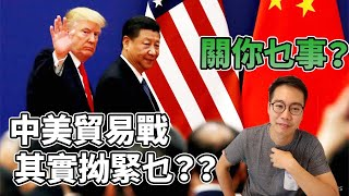 Y.T.熱爆影片🏆成日講『加稅』『貿易戰』,關我乜野事?中美貿易戰懶人包 [粵語中字]